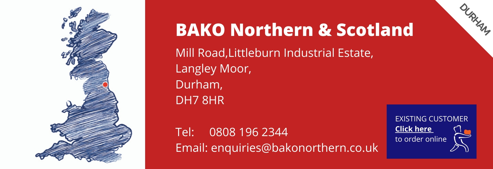 How to order BAKO Northern & Scotland