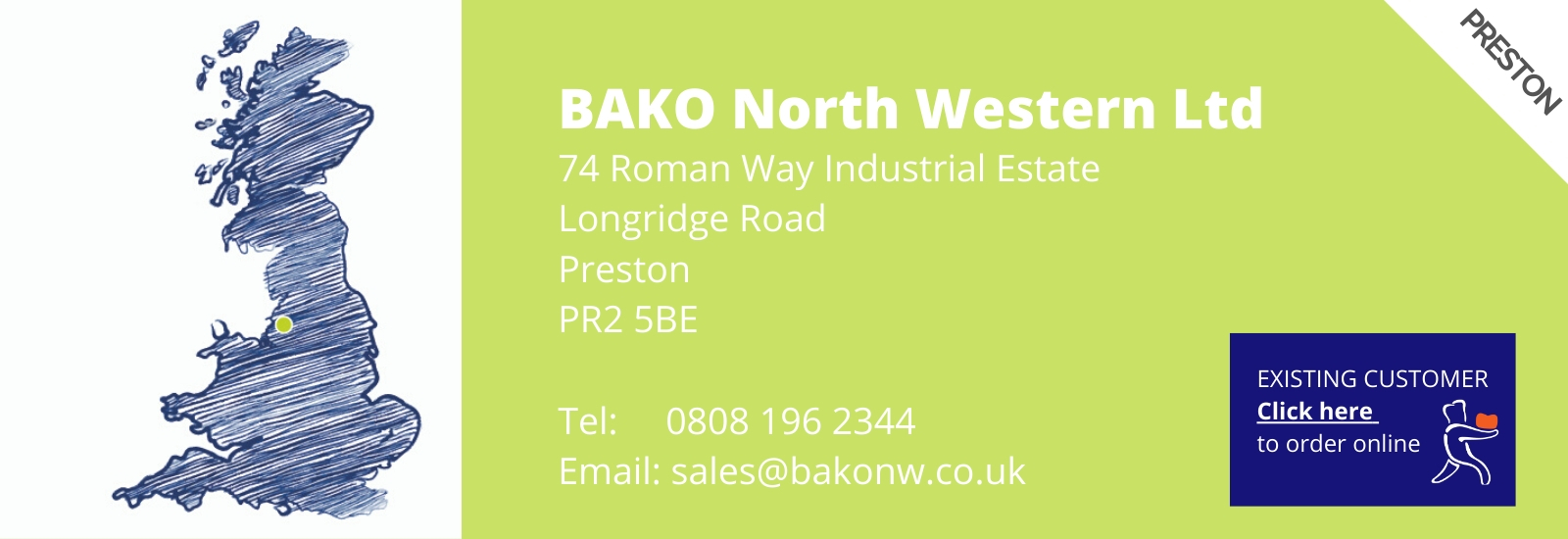 How to order BAKO North Western