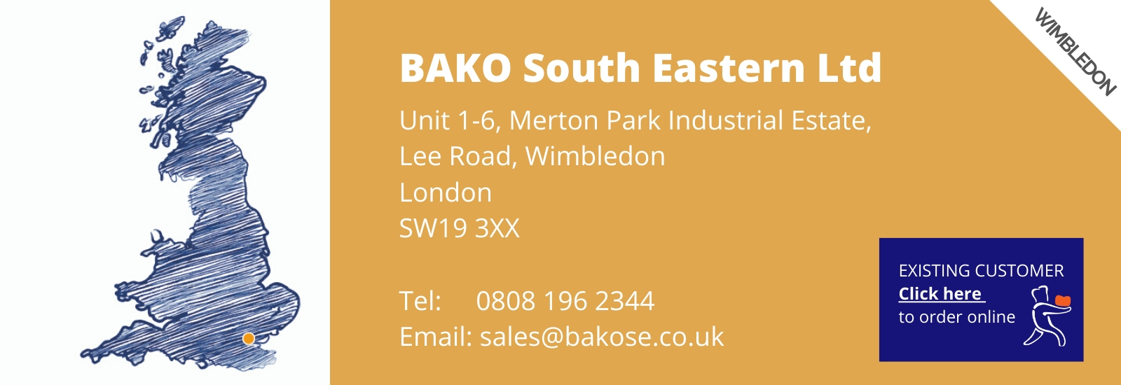 How to order BAKO South Eastern