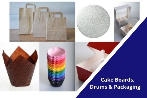 BAKO Cake Boards, Drums and Packaging Product Range