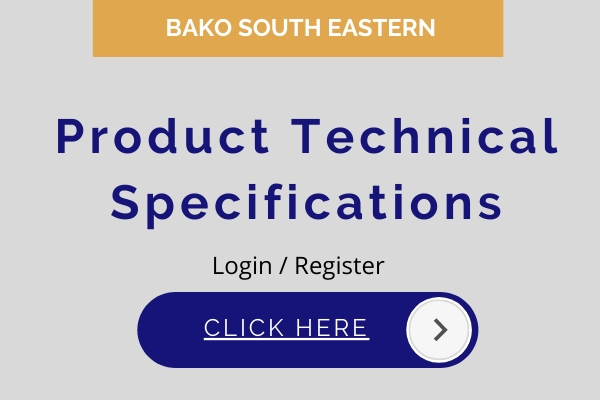 Bako South Eastern Product Specifications