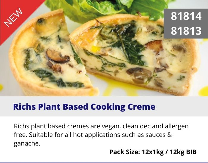 NEW Plant Based Cooking Creme