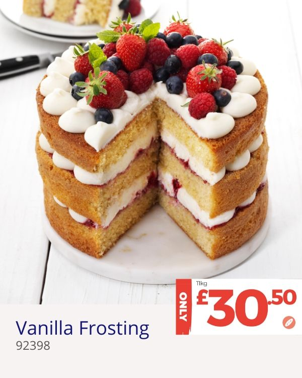 April deal - Vanilla Frosting