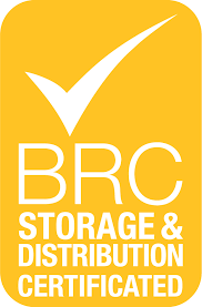 BRC Storage and Distribution Certificate